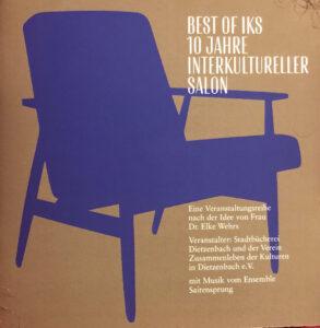 CD-Cover BEST OF IKS 10 JAHRE INTERNATIONALER SALON DIETZENBACH